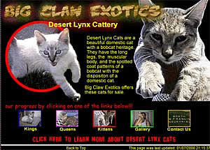 Big Claw Exotics